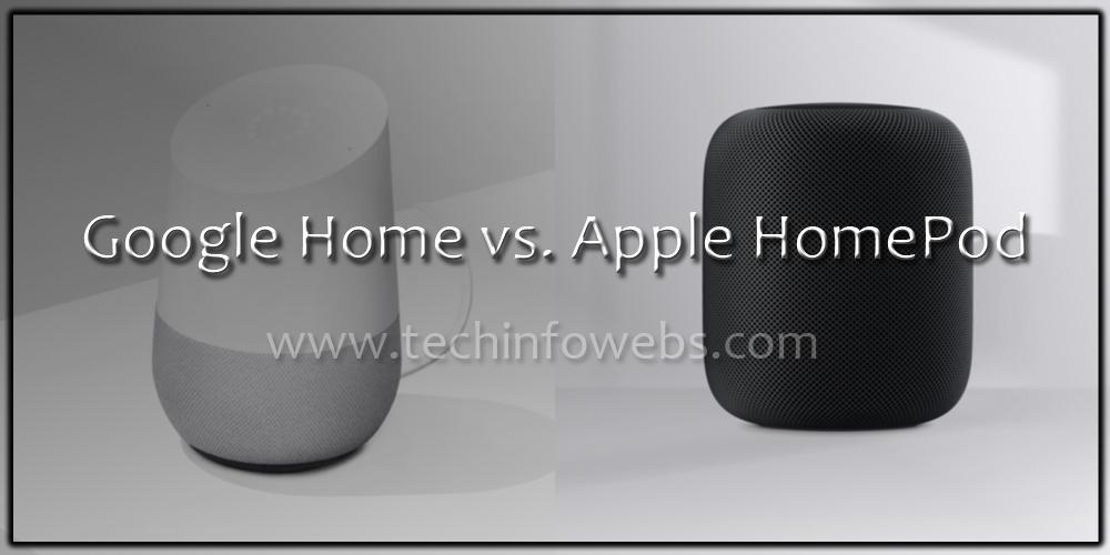 google home vs apple homepod