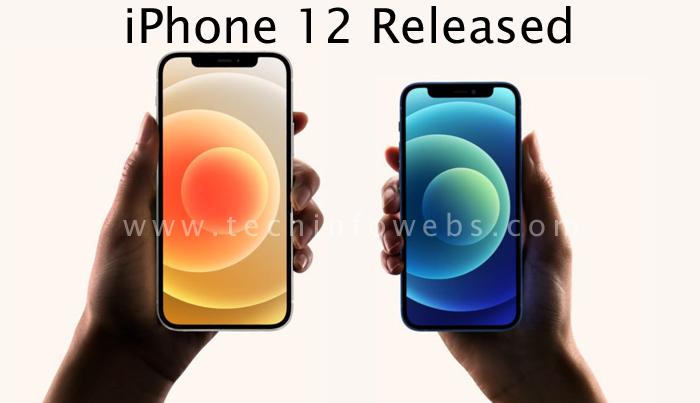iPhone 12 released